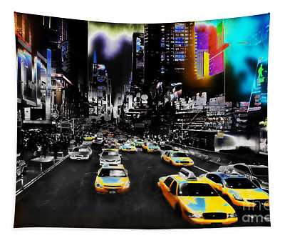 New York Streets Tapestry