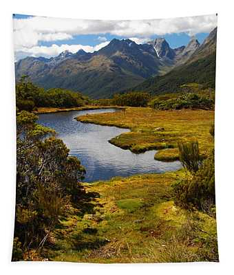 New Zealand Alpine Landscape Tapestry