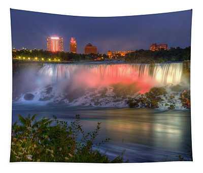 Niagara Falls Canada Sunset  Tapestry