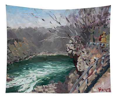Niagara Falls Gorge Tapestry