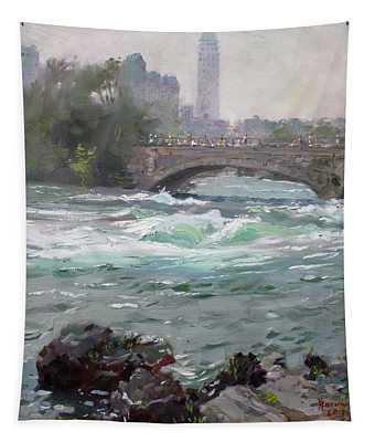 Niagara Roaring River Tapestry