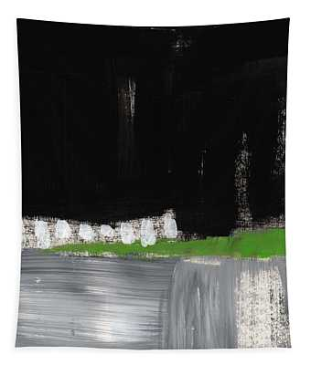 Night Horizon- Abstract Landscapeart Tapestry