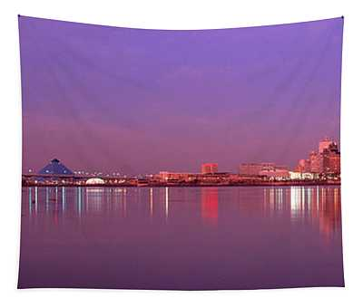 Night Memphis Tn Tapestry