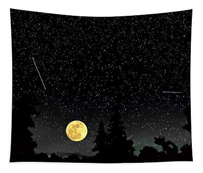Night Moves Tapestry