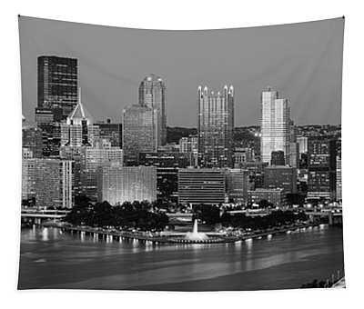 Night, Pittsburgh, Pennsylvania Tapestry