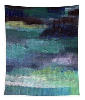 Night Swim- Abstract Art Tapestry