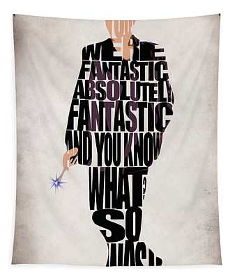 Ninth Doctor - Doctor Who Tapestry