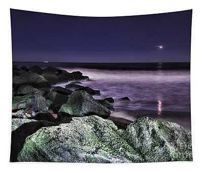 Nj Shore Shooting Star Tapestry