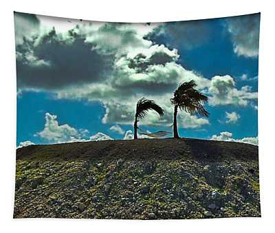 Tapestry featuring the photograph Caribbean Hammock by Gary Keesler