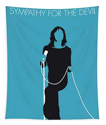 No005 My The Stones Minimal Music Poster Tapestry