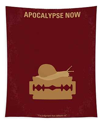 No006 My Apocalypse Now Minimal Movie Poster Tapestry