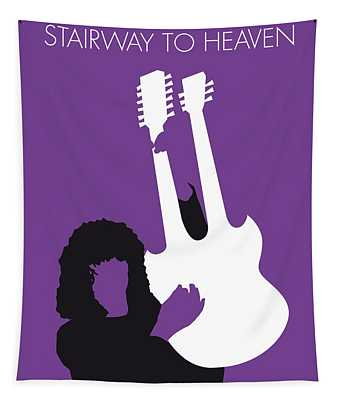 No011 My Led Zeppelin Minimal Music Poster Tapestry