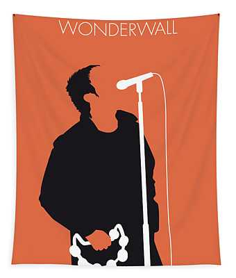 No023 My Oasis Minimal Music Poster Tapestry