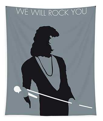 No027 My Queen Minimal Music Poster Tapestry