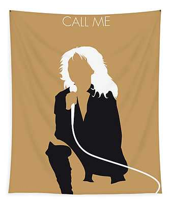 No030 My Blondie Minimal Music Poster Tapestry