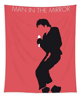 No032 My Michael Jackson Minimal Music Poster Tapestry