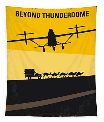 No051 My Mad Max 3 Beyond Thunderdome Minimal Movie Poster Tapestry