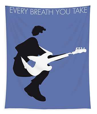 No058 My The Police Minimal Music Poster Tapestry