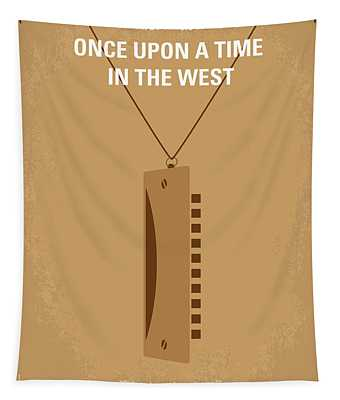 No059 My Once Upon A Time In The West Minimal Movie Poster Tapestry