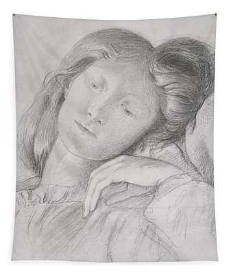 Elizabeth Siddal, Circa 1860 Tapestry