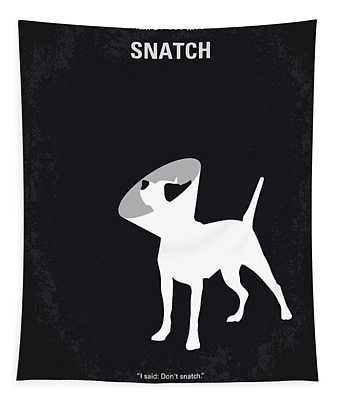 No079 My Snatch Minimal Movie Poster Tapestry