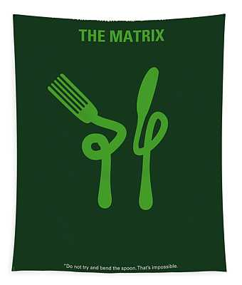 No093 My The Matrix Minimal Movie Poster Tapestry