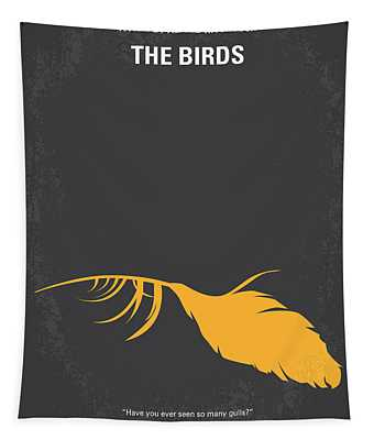 No110 My Birds Movie Poster Tapestry