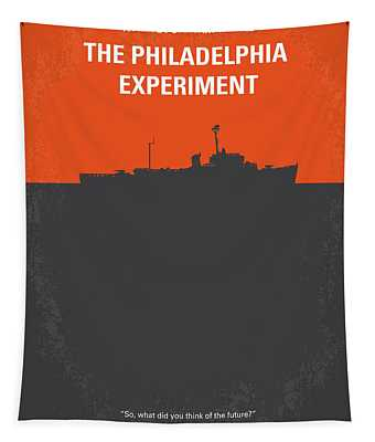No126 My The Philadelphia Experiment Minimal Movie Poster Tapestry