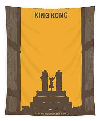 No133 My King Kong Minimal Movie Poster Tapestry