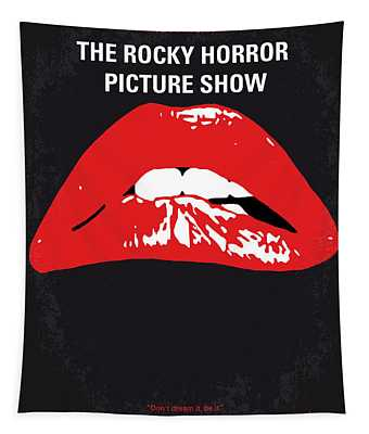 No153 My The Rocky Horror Picture Show Minimal Movie Poster Tapestry