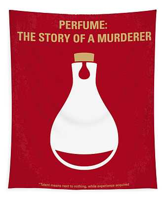 No194 My Perfume The Story Of A Murderer Minimal Movie Poster Tapestry