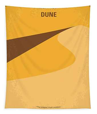 No251 My Dune Minimal Movie Poster Tapestry