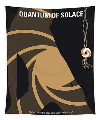 No277-007-2 My Quantum Of Solace Minimal Movie Poster Tapestry