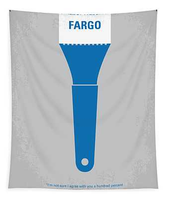 No283 My Fargo Minimal Movie Poster Tapestry