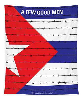 No417 My A Few Good Men Minimal Movie Poster Tapestry