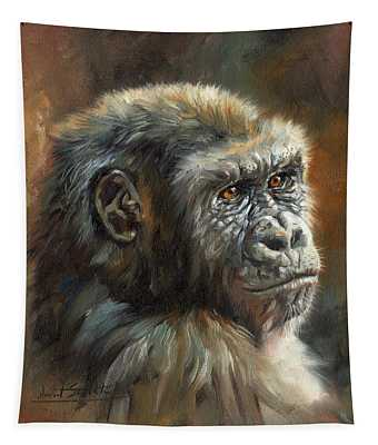 Noble Ape Tapestry