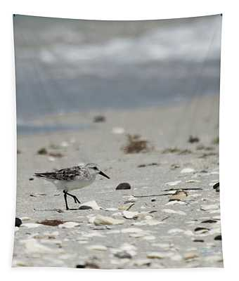Nokomis Beach Piper Tapestry