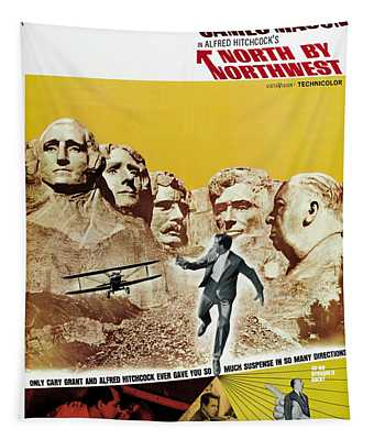 North By Northwest - 1959 Tapestry