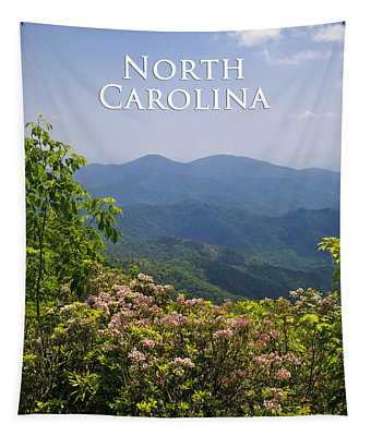 North Carolina Mountains Tapestry