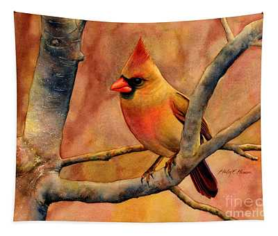 Northern Cardinal II Tapestry
