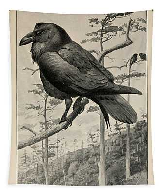 Northern Raven Tapestry
