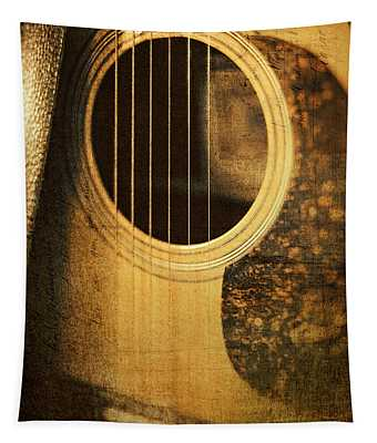 Nostalgic Tones Tapestry