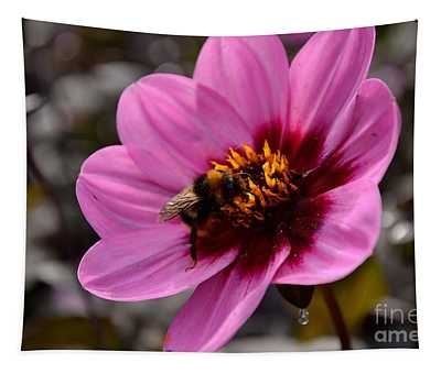 Nosy Bumble Bee Tapestry