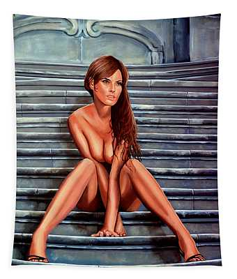 Nude City Beauty Tapestry