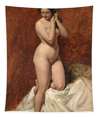 Nude From The Front Tapestry
