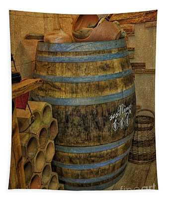 Oak Wine Tapestry