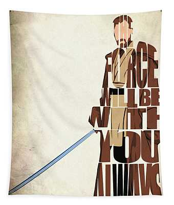 Obi-wan Kenobi - Ewan Mcgregor Tapestry