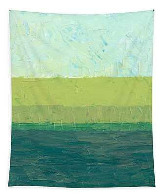 Ocean Blue And Green Tapestry