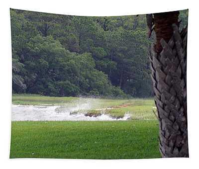 Ocean Spray At Hilton Head Island Tapestry