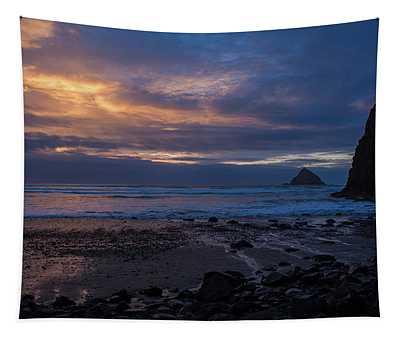 Oceanside Evening Tapestry